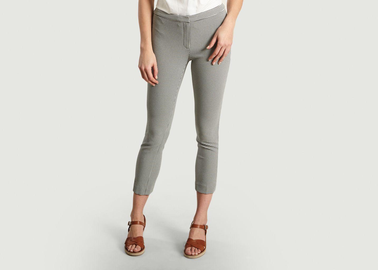 ed6ab7f7b8 Herringbone Skinny Trousers