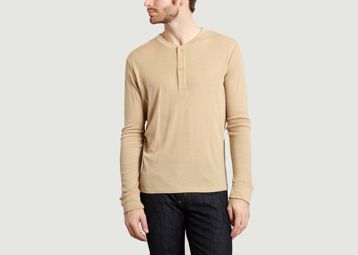 T-Shirt Henley Dyck - The White Briefs