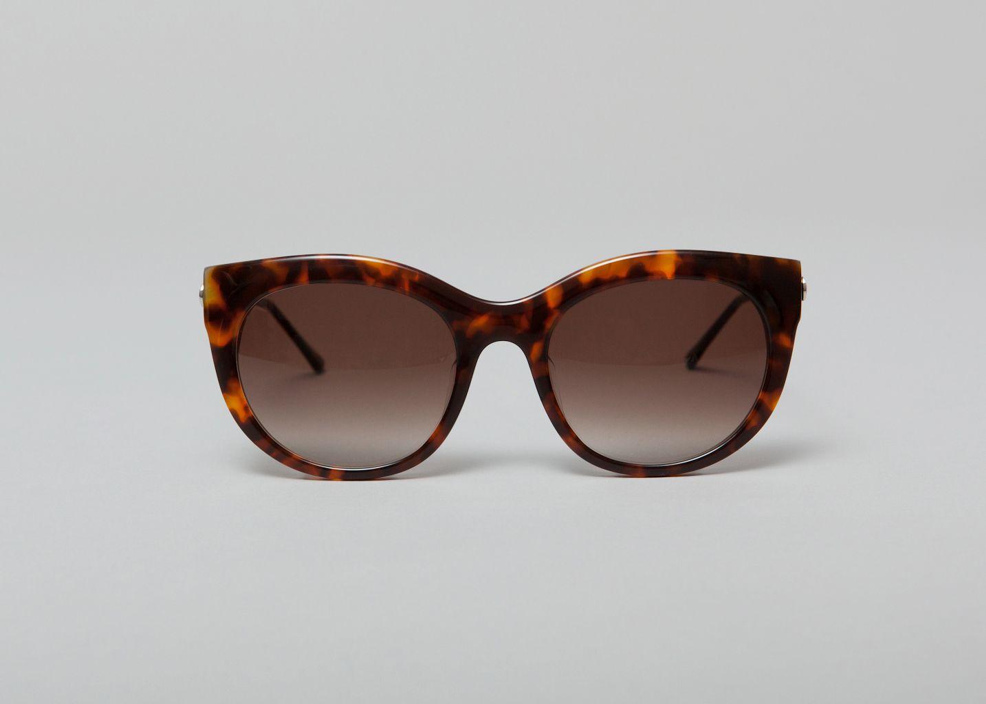lunettes glitzy thierry lasry marron l 39 exception. Black Bedroom Furniture Sets. Home Design Ideas