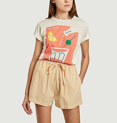 T-shirt Plage