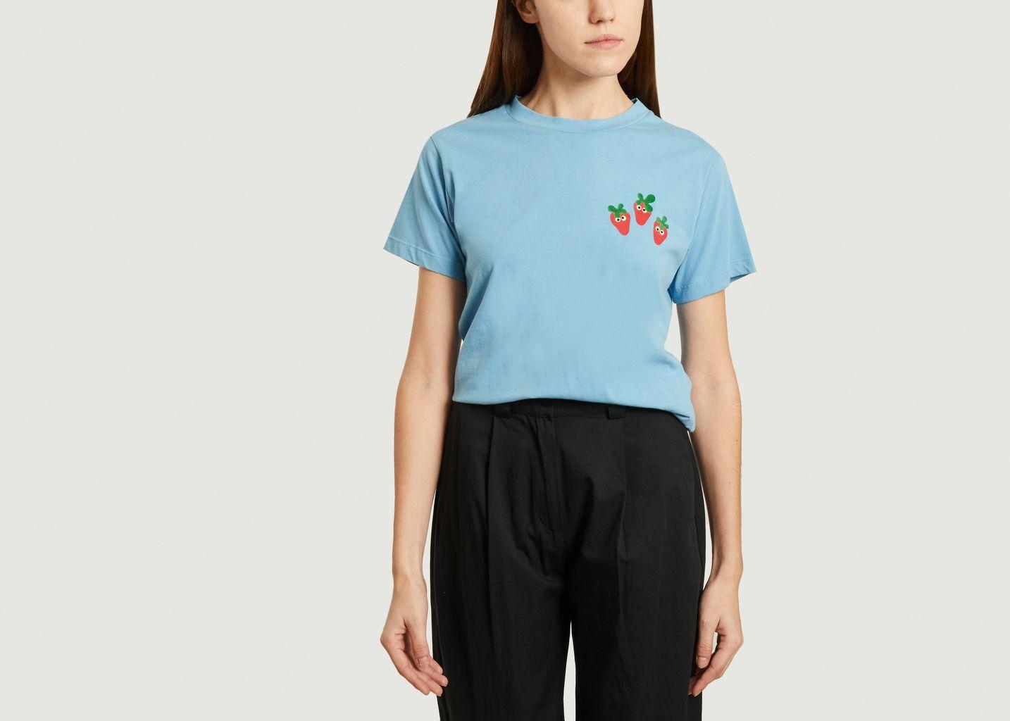 T-shirt Fraise - Thinking Mu
