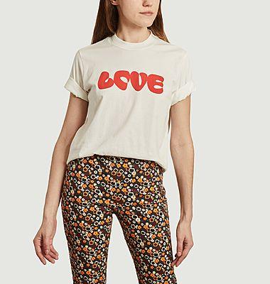 Tee-shirt Love en coton biologique