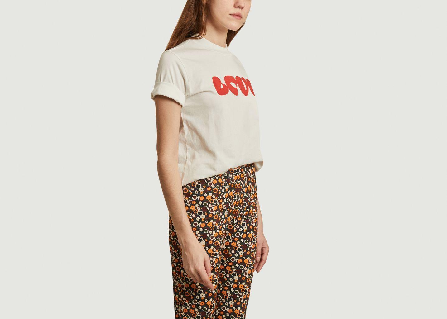 Tee-shirt Love en coton biologique  - Thinking Mu
