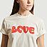 matière Tee-shirt Love en coton biologique  - Thinking Mu