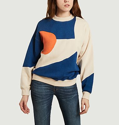Pullover abstrait