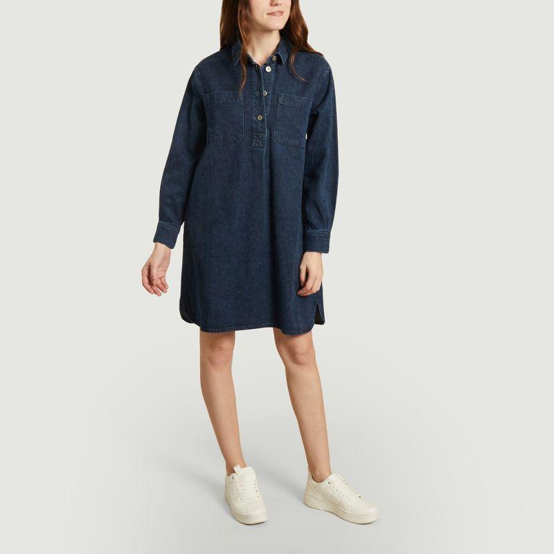 Robe chemise en chanvre  - Thinking Mu