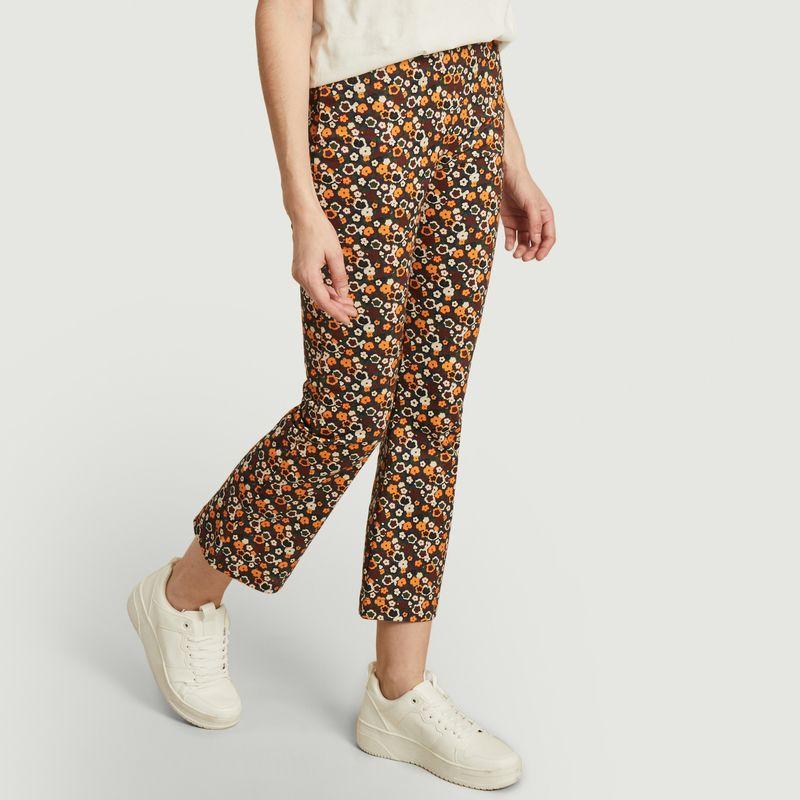 Pantalon imprimé fleuri longueur 7/8e Maci - Thinking Mu