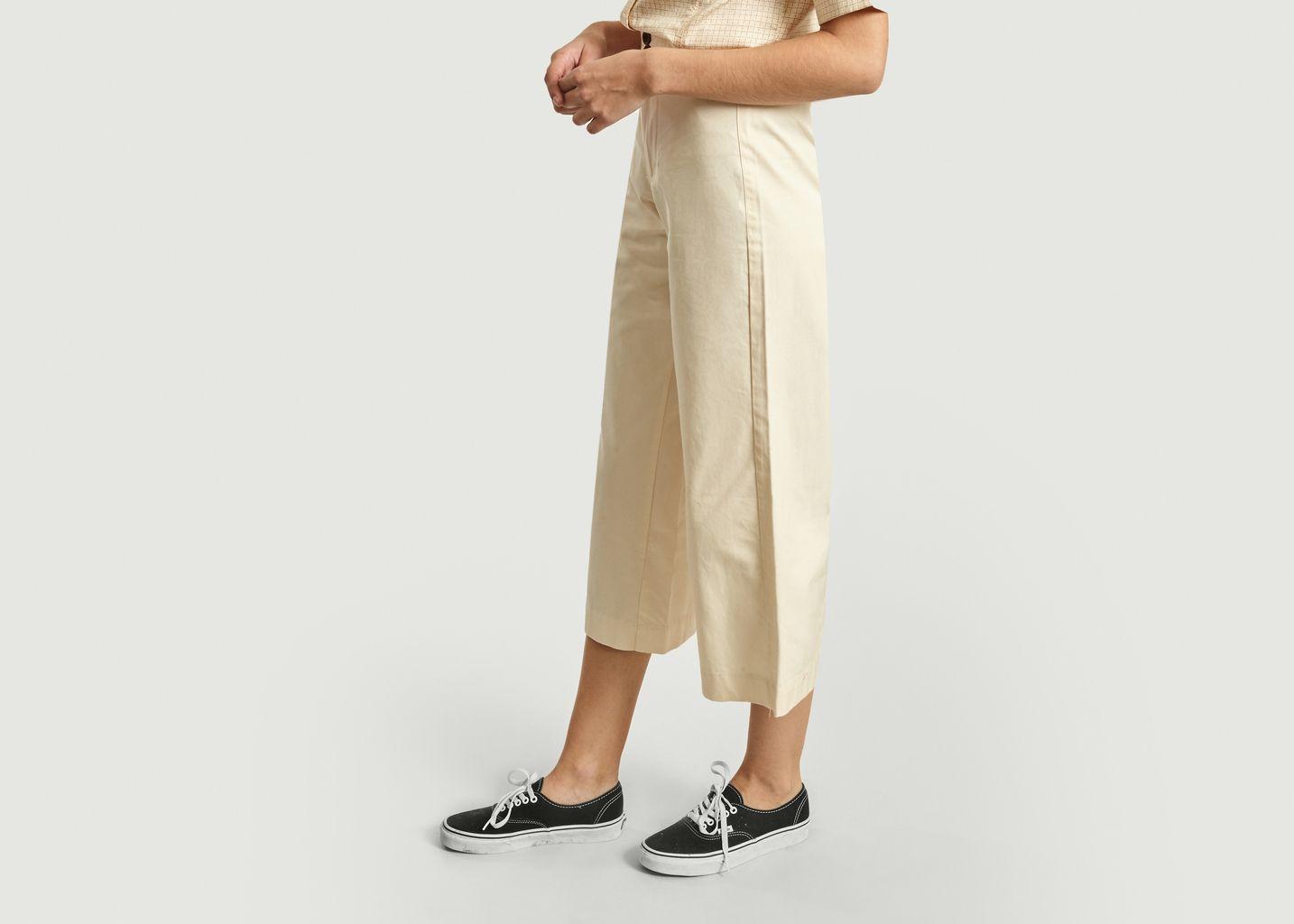Pantalon large 7/8e en coton bio - Thinking Mu