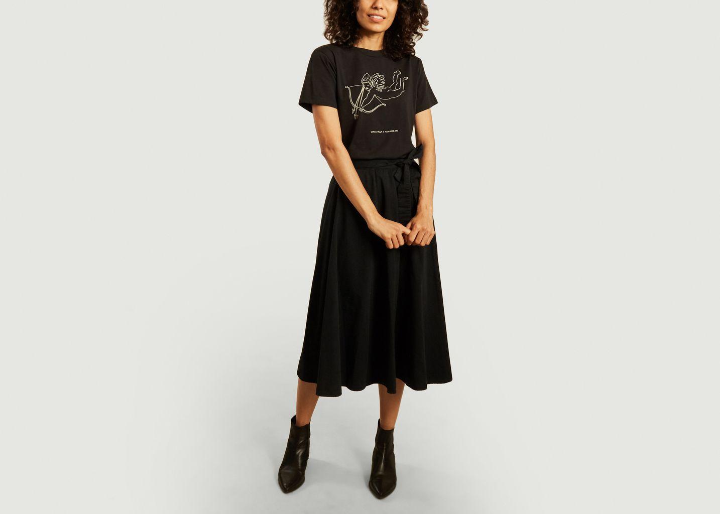T-shirt cupidon à message  - Thinking Mu