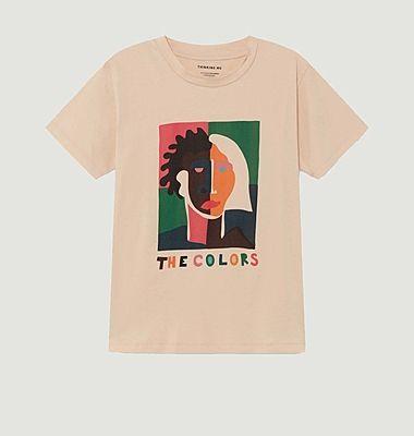 T-shirt The Colors visage