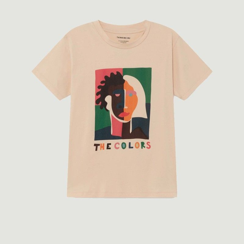 T-shirt The Colors visage  - Thinking Mu
