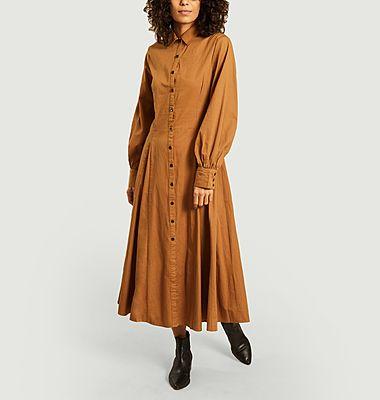 Robe-chemise Freya en coton biologique