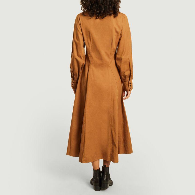 Robe-chemise Freya en coton biologique  - Thinking Mu