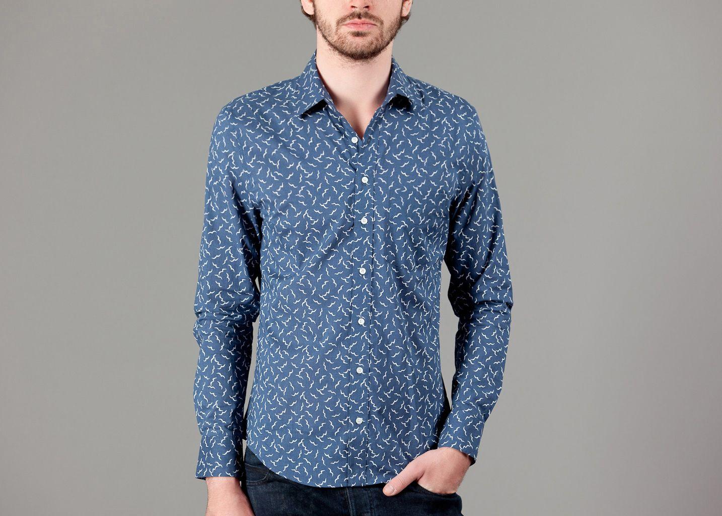 Chemise à motifs - Thomsen