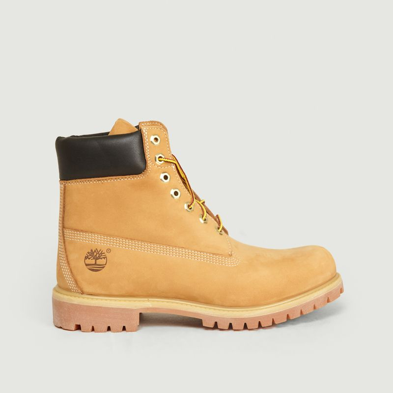 Aplicado Interminable Posada  Six Inch Boots en Nubuck Premium Biscuit Timberland | L'Exception