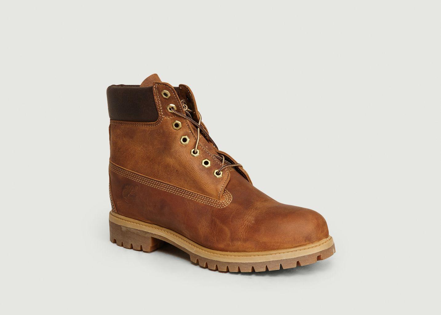Glosario Príncipe fecha  Boots Héritage Six Inch Imperméable Marron Timberland | L'Exception