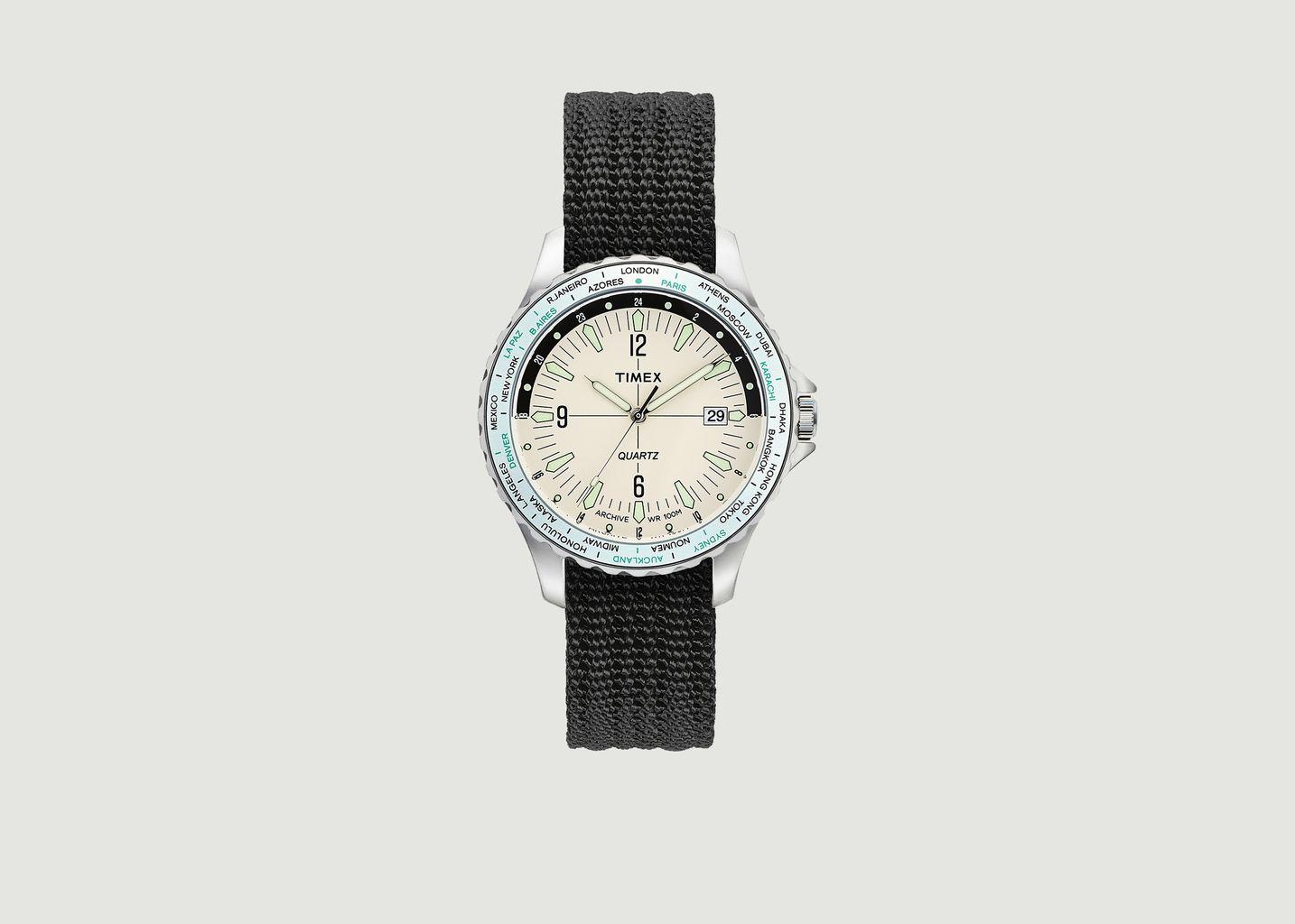 Montre Navi World Time - Timex Archive