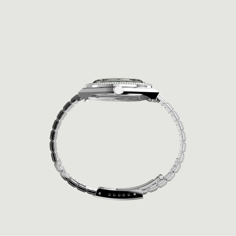 Montre à bracelet en acier inoxydable Q-timex x Coca-Cola Unity Collection - Timex Archive