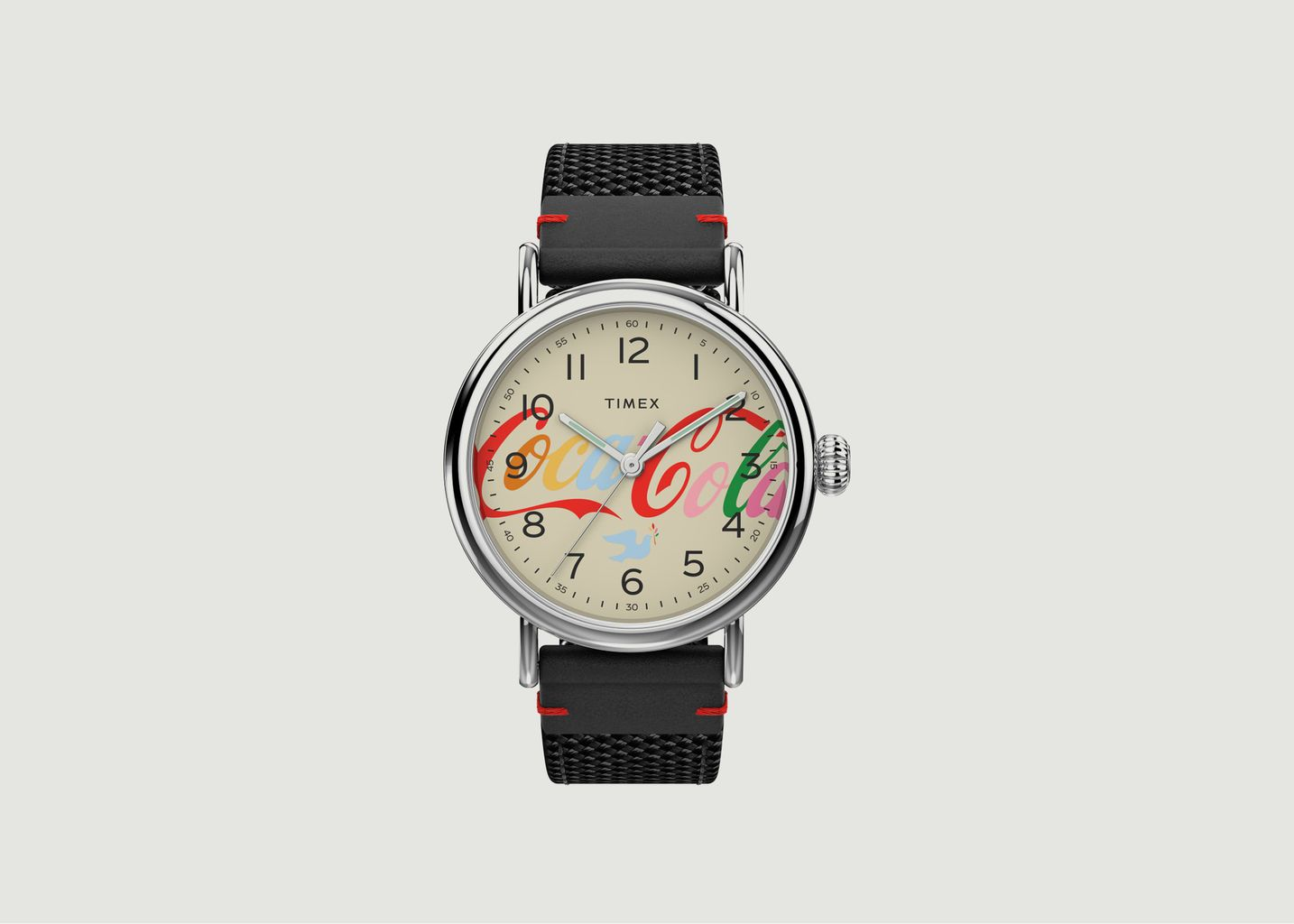 Montre Timex Standard x Coca Cola Unity Collection 40mm Fabric Strap - Timex Archive