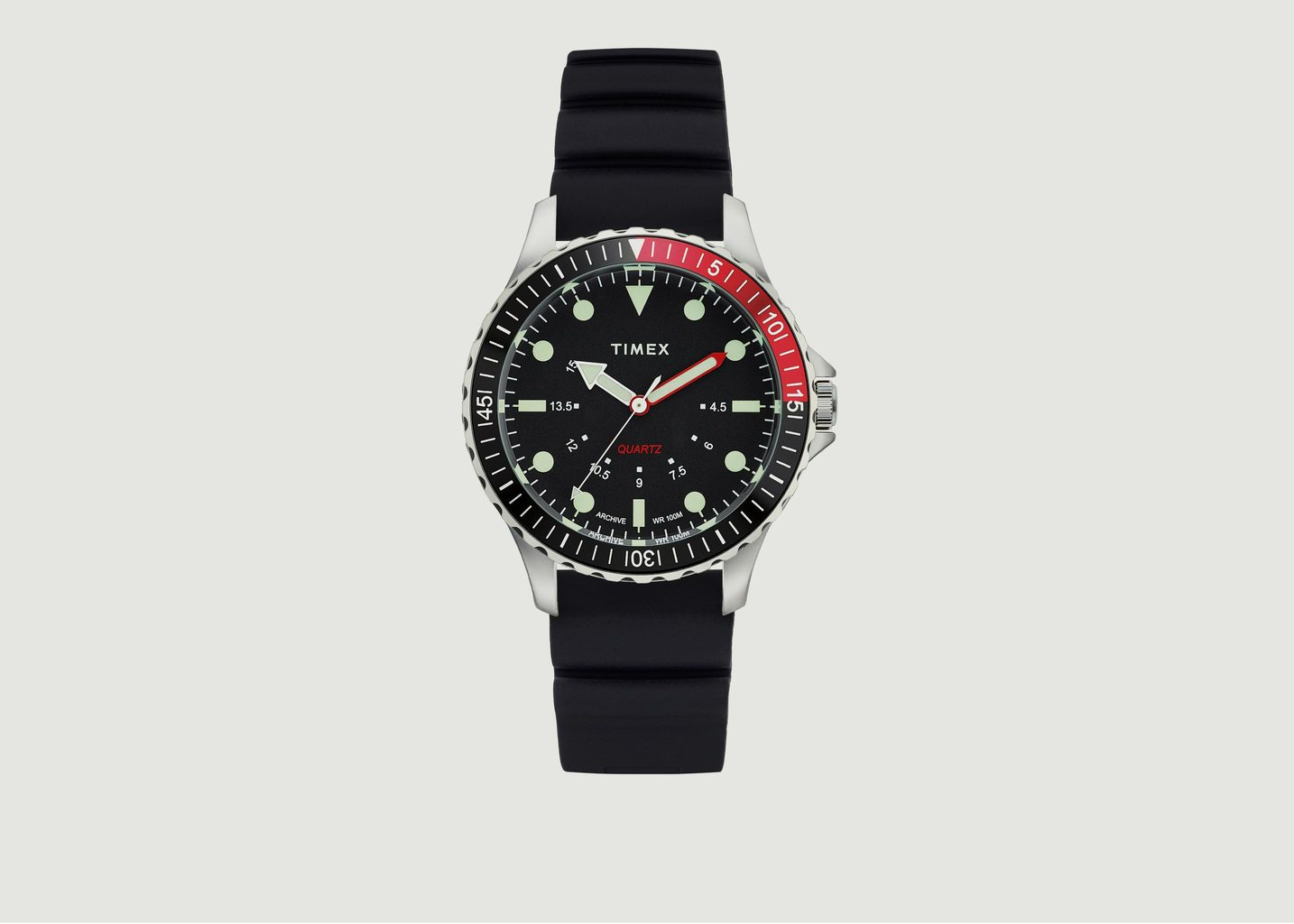Montre Navi Depth Steel Black - Timex Archive