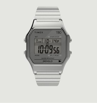 T80 Watch 34mm Silver