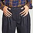 matière Pantalon large à pinces Pepa - Tinsels