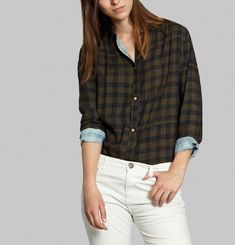 Chequered Joan Shirt