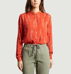 Joan Poppy Shirt