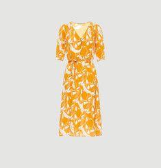 Robe Odessa mi-longue imprimée