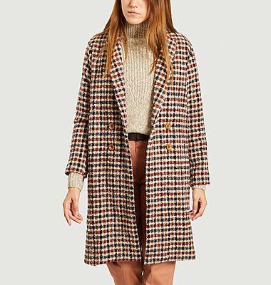 Manteau motif pied-de-poule Padrig College