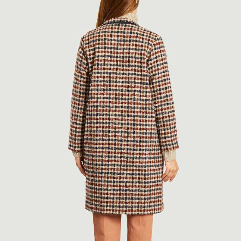 Manteau motif pied-de-poule Padrig College - Tinsels