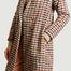 matière Manteau motif pied-de-poule Padrig College - Tinsels
