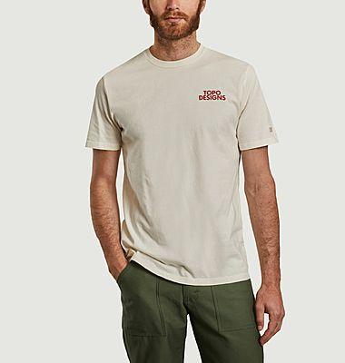 T-shirt siglé en coton bio Basin