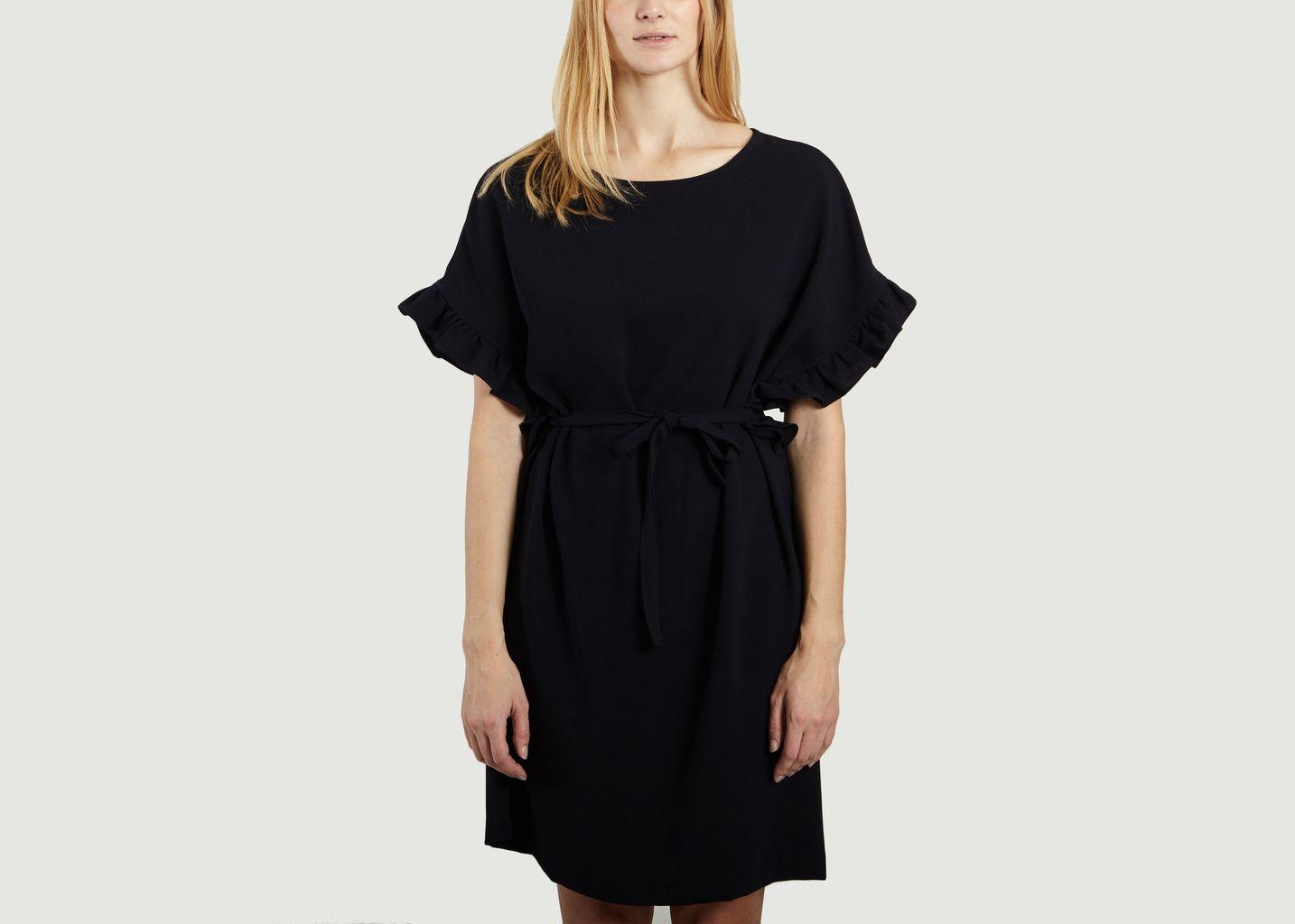 Robe Noir Robe L'Exception Losange Toupy Losange Twqd0BtnT