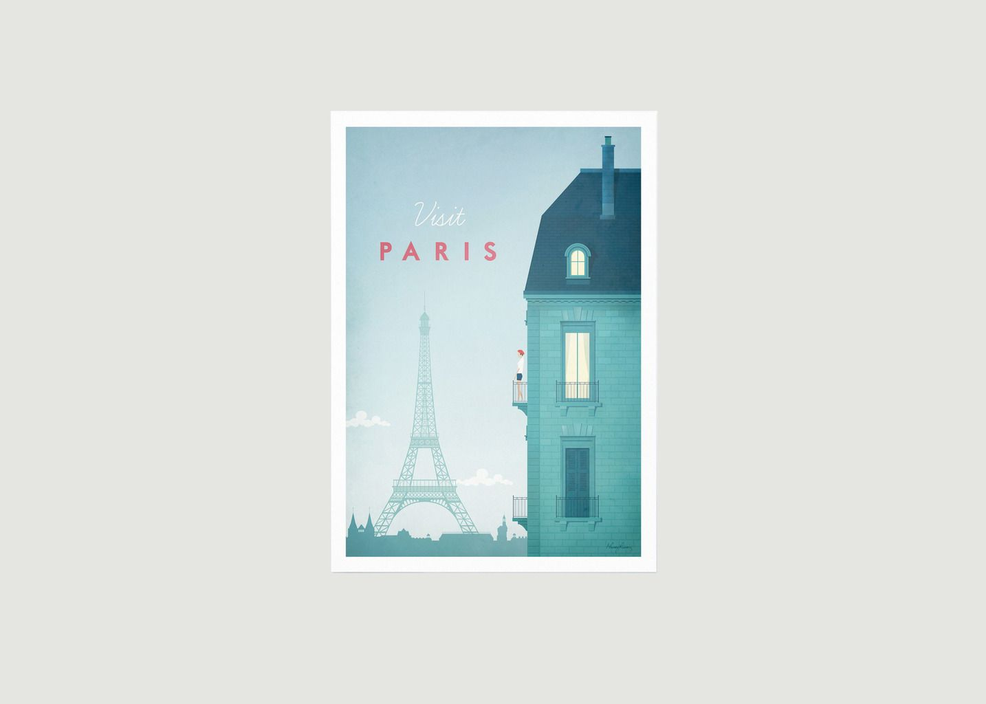 Travel Poster Paris A2 - Travel Poster co