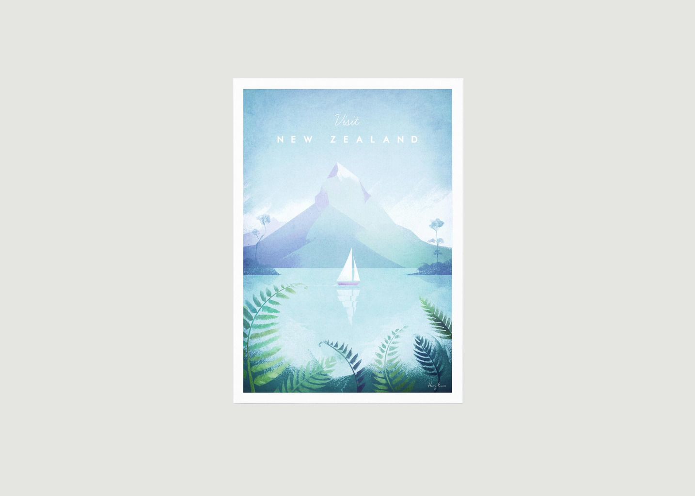 Travel Poster New Zealand A2 - Travel Poster co