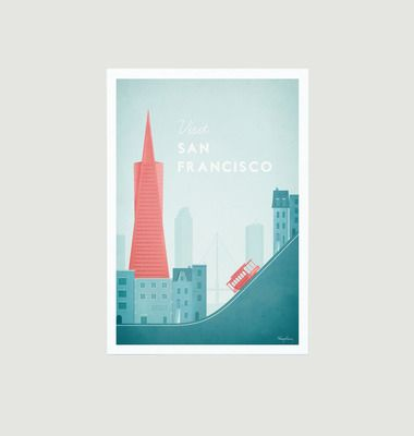 Travel Poster San Francisco A2