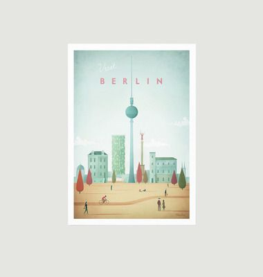 Travel Poster Berlin A2