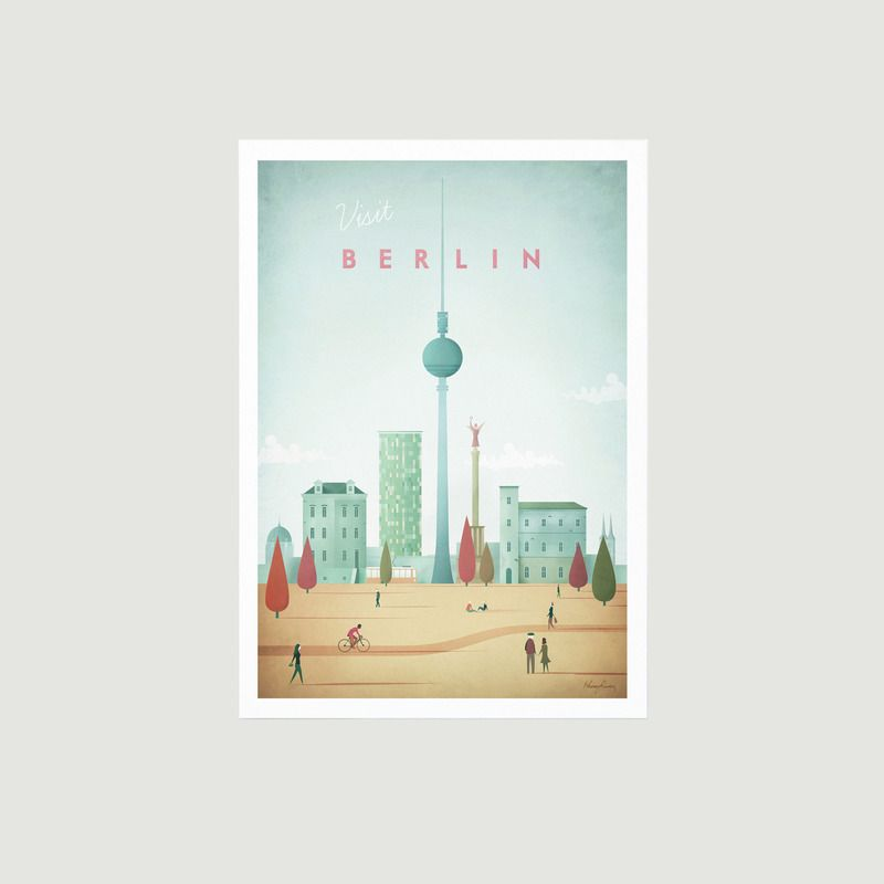 Travel Poster Berlin A2 - Travel Poster co