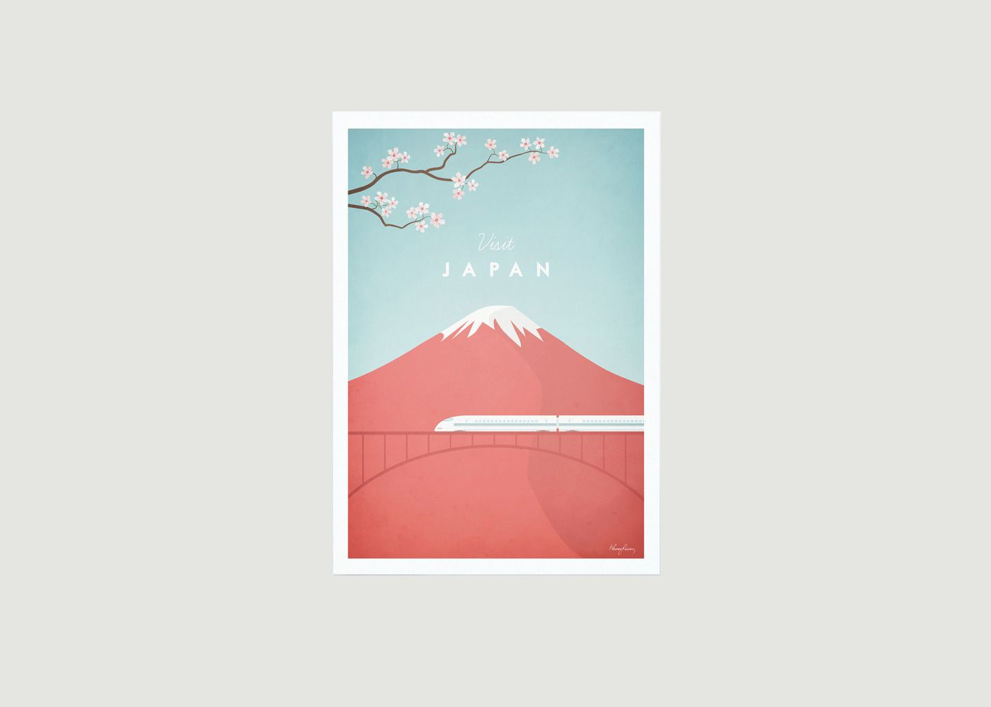 Travel Poster Japan A2 - Travel Poster co