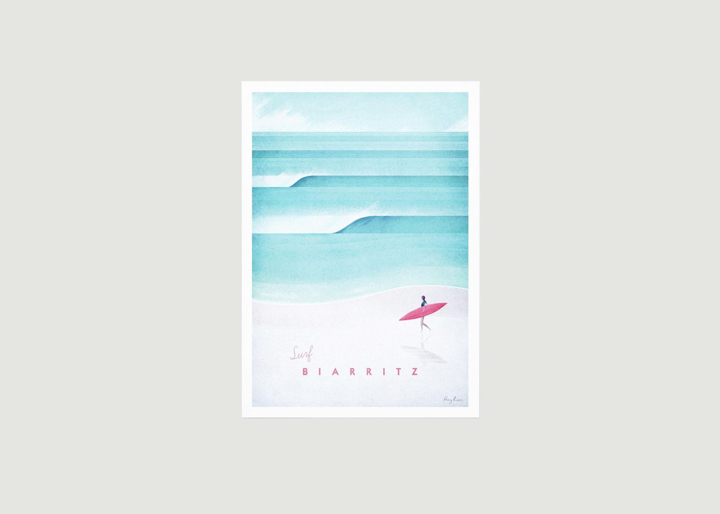 Travel Poster Biarritz A3 - Travel Poster co