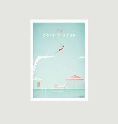Travel Poster Côte d'Azur A3