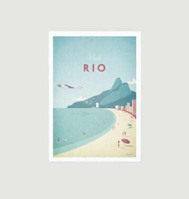 Travel Poster Rio A2