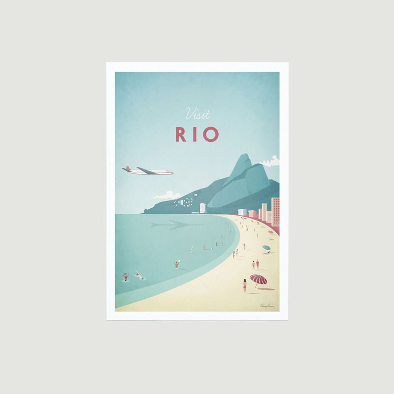 Travel Poster Rio A2 - Travel Poster co