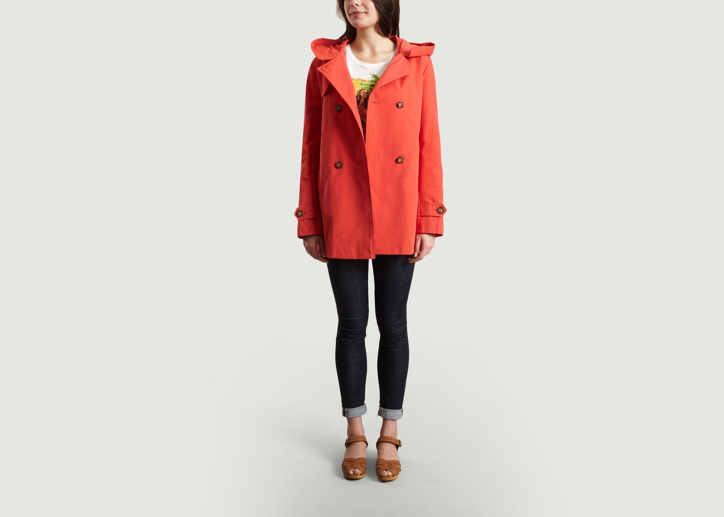 Trench Court Vacajou - Trench And Coat