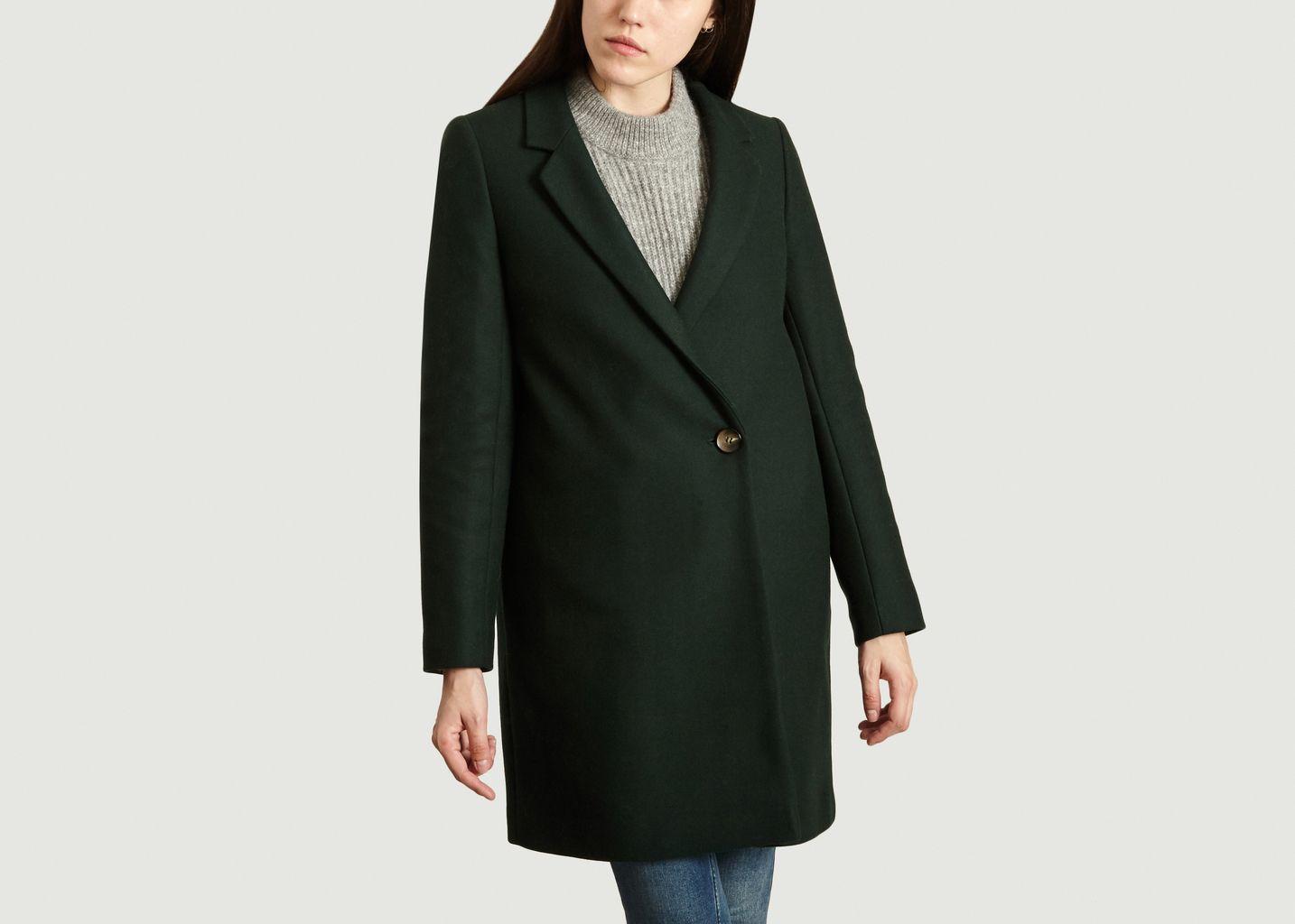 Manteau Droit Vesoul - Trench And Coat