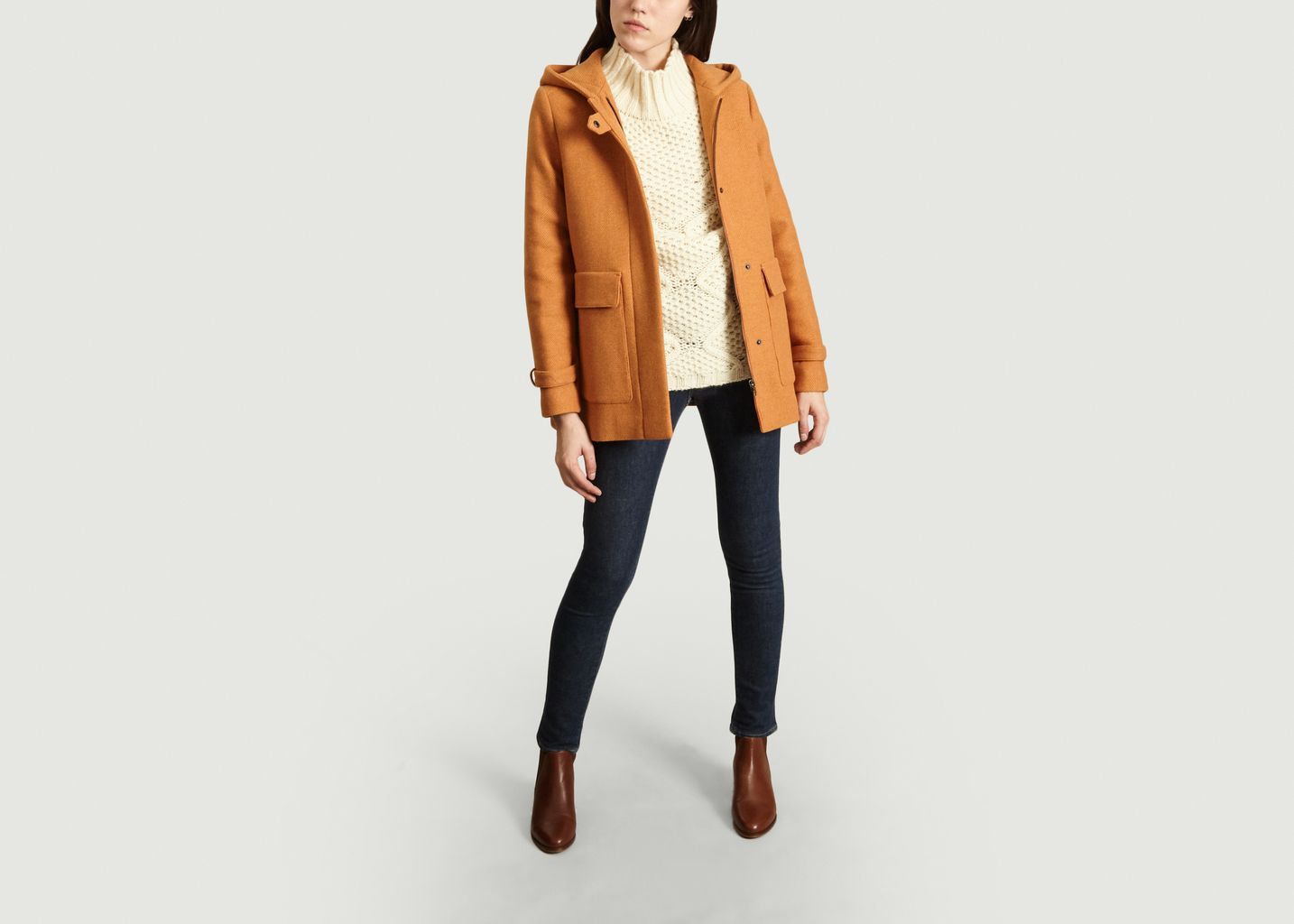 Manteau Court Bornand - Trench And Coat