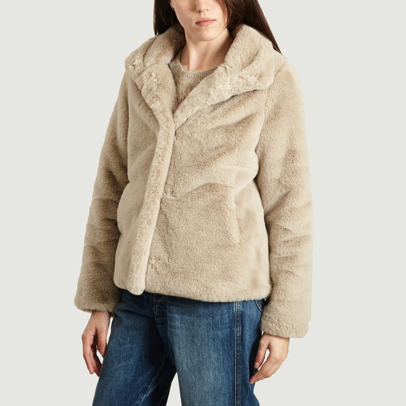 Manteau Effet Fourrure Chatel - Trench And Coat