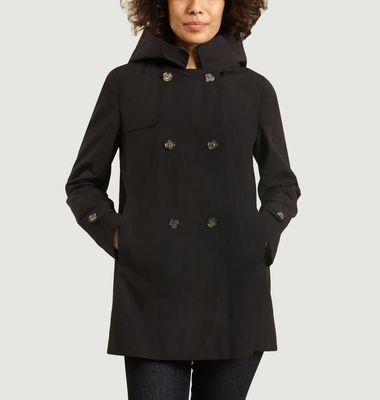 Oléron short trench coat