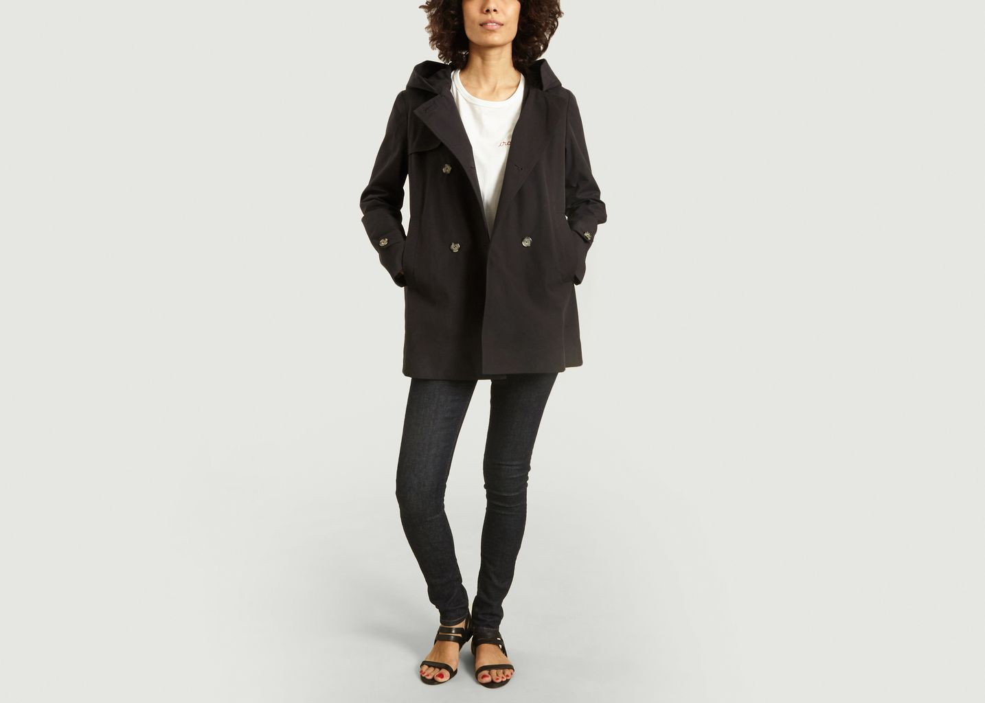 Trench court Oléron  - Trench And Coat